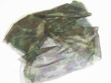 US military surplus individual camouflage cover scrim netting woodland 5 X 8 new