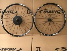 "New Mavic Crossride Disc Wheels Mountain Bike 6-bolts 26"" Front & Rear Wheelset"