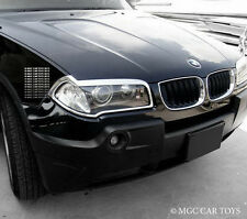 BMW X3 E83 03-10 Top Quality MGC  Headlight Chrome Trim Surround