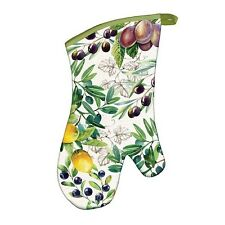 Michel Design Works Cotton Kitchen Oven Mitt Tuscan Grove - NEW