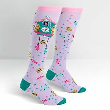 Sock It To Me Women's Knee High Socks - Cat O'Clock