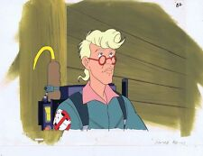 The Real Ghostbusters Original Production Animation Cel & Painted Bkgd #A6316