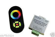 LED RGB Leiste Strip TOUCH Funk Fernbedienung 433MHz + Controller 12V 18A 216W