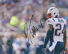 DARELLE REVIS NEW ENGLAND PATRIOTS SIGNED AUTOGRAPHED 8X10 PHOTO RP