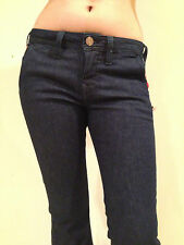 True Religion Jeans Flare Leg Mid Rise EMI LUXE Midnight Size 24 NEW
