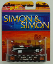 Movie Simon & Simon 57 Chevy Bel Air Convertible 1:64 Hot Wheels USA