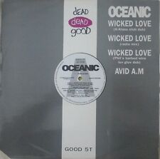 "OCEANIC-WICKED LOVE (K-KLASS CLUB DUB) 12"" VINYL SINGLE DANCE HOUSE 1990s NM/NM"