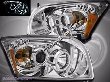 07-12 Dodge Caliber SRT-4 SXT R/T SE CCFL Halo LED Projector Headlights Clear
