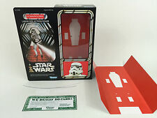 """replacement Vintage star wars 12""""  stormtrooper box + inserts fantastic quality"""
