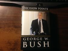 Decision Points Signed by George W. Bush 1st/17th Hardcover w/ Dust Jacket
