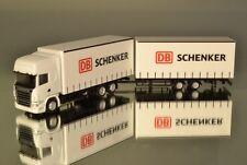 """Herpa / Scale Works 900460 Scania R09 TL Volumen Hängerzug 7,82m """"Schenker"""" V2"""