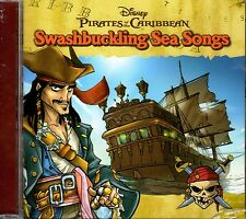Disney PIRATES of the CARIBBEAN Swashbuckling Sea Songs: KIDS PIRATE PARTY MUSIC