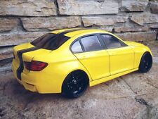 BMW 3 series M3 (f30/f80) RC car body shell 1/10 scale drift, on-road, tt01, mst