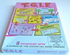 Atari XL : T.G.I.F - Avalon Hill 1982