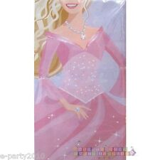 BARBIE Perennial Princess PLASTIC TABLECOVER ~ Birthday Party Supplies Tableware