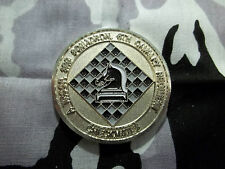 U S Army A Troop 3rd Squadron 6th Calvary Regiment CAB CHECKMATES Challenge Coin