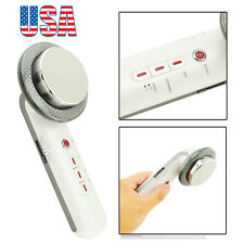 USA 3 in1 Ultrasonic Infrared Lights Facial Body Slimming Massage Beauty Machine