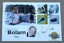PATIENTS' TALE 1999 AUTOGRAPHED EDITIONS FDC SIGNED BY THE ACTOR JAMES BOLAM