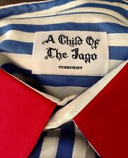 A Child Of The Jago Authentic, Jail Stripes Shirt M