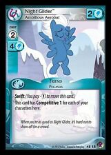 MY LITTLE PONY CCG MLP MARKS IN TIME : Night Glider, Ambitious Aerobat 8 SR