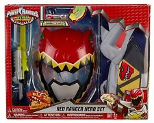 Power Rangers Dino Super Charge Red Ranger Hero Training Set  *BRAND NEW*