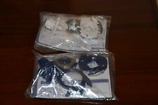 Takara Beyblade Slash Riger MS (Metal Scratch) HMS Brand NEW 2 PCS White & Blue