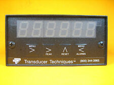 Transducer Techniques -  DPM-3 -  Digital Panel Meter, 6 Digit