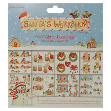 Helz Cuppleditch Santa's Workshop Decoupage Pad
