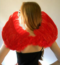 Fairy Wings New Real Feather  Magical Mythical Black White Red Large Small