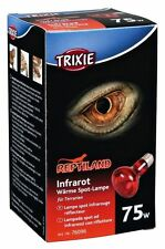 Infrared Heat Spot Lamp Reptile Day & Night Red Heat Bulb E27 Thread 75w