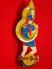 HRC Hard Rock Cafe Indianapolis Marching Band Girl + Tuba 2002 1 of 3 LE300