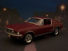 1968 68 FORD MUSTANG GT FASTBACK 1/64 SCALE DIECAST COLLECTIBLE DIORAMA MODEL