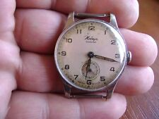 1958 Vintage russian mechanical watch Pobeda Men's Soviet USSR