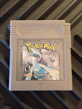 Pokemon Silver Version Gameboy - New Save Battery Installed & Cartridge Cleaned!