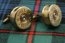 Shotgun Shell Cartridge Cap Cufflinks Clay and Game Shooting Super Gift 005