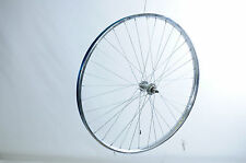 26 x 1 3/8 FRONT WHEEL VINTAGE ROADSTER BIKE WESTRICK CHROME RIM ROD OR CALIPER