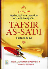 Tafsir As-Sadi (Parts 28-29-30) by Shaikh Abdur-Rahman Ibn As-Sadi