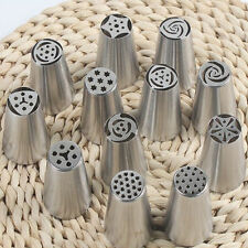 7pcs/Set 7Style Russian Tulip Stainless Steel Icing Piping Nozzles Tips Tools