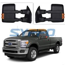 99-07 Ford F250-F550 Super Duty Towing Mirrors Power Heated LED Turn Signal