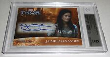 2011 Thor Movie Autographs JAIMIE ALEXANDER Issued in 2012 Avengers Assemble WOW