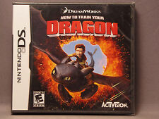 How to Train Your Dragon (Nintendo DS, 2010) NEW Sealed