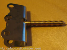 Accordion Bass strap Screw type Fixing Italcinte no.118 Chrome Plated NEW PARTS