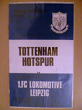 1974  UEFA Cup, Semi Final 2nd League Tottenham Hotspur v FC Lokomotive Leipzig