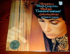 NEW SEALED LP BOIELDIEU Harp Concerto RODRIGO Serenata Catherine Michel Almedia