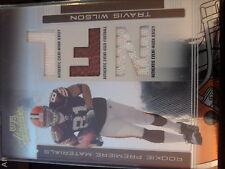 2006 Playoff Absolute Memorabilia Travis Wilson Game-Used Jersey Football Rookie