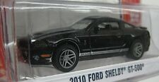 GREENLIGHT GL MUSCLE SERIES 16 - 2010 FORD SHELBY GT500 - 1:64 Black/Silver