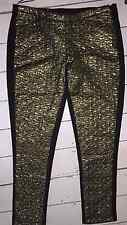 Fearne Cotton black/gold trousers size 12