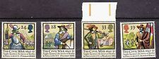 GB Set of 4 stamps - 1992 - English Civil War 350th Anniversary -  MNH