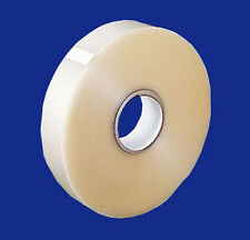 "4 Rolls 1.8 Mil 3""x1000 Yards Clear Machine Use Carton Box Sealing Packing Tape"