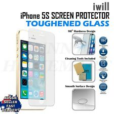 iwill Apple iPhone 5 5s Premium anti scratch Tempered Glass protector hardeness